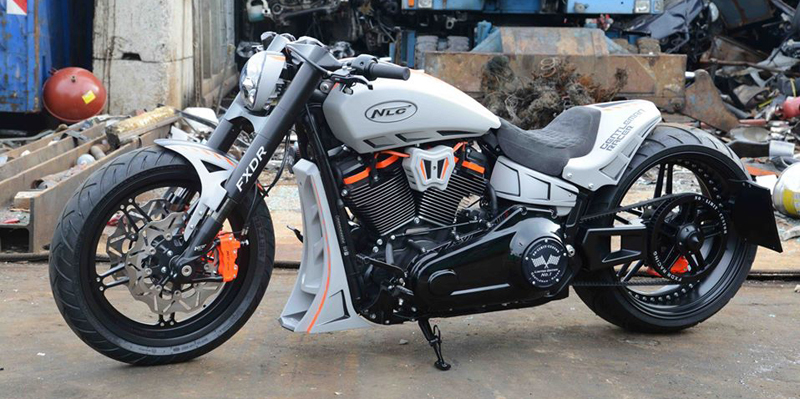 milwaukee eight fxdr swingarm 7