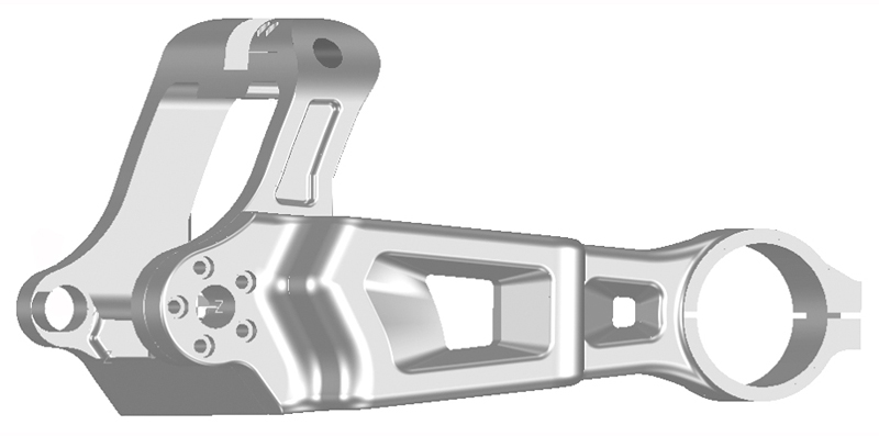 swingarm for milwaukee eight breakout 2