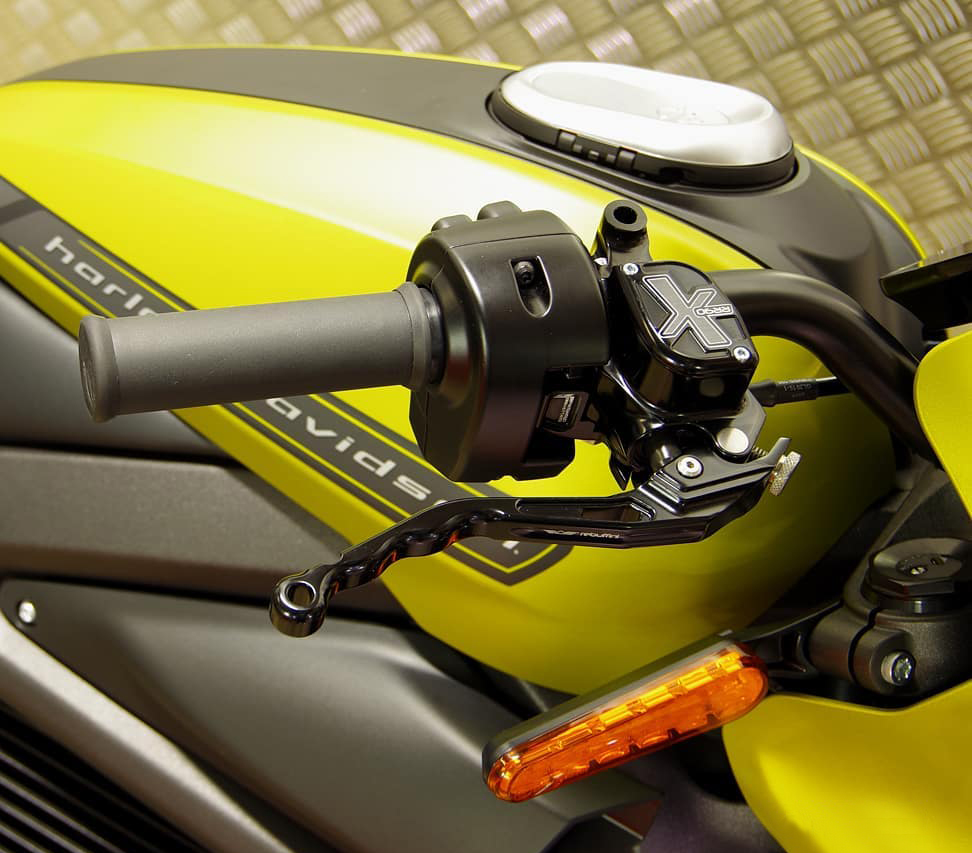 hand controls for harley livewire