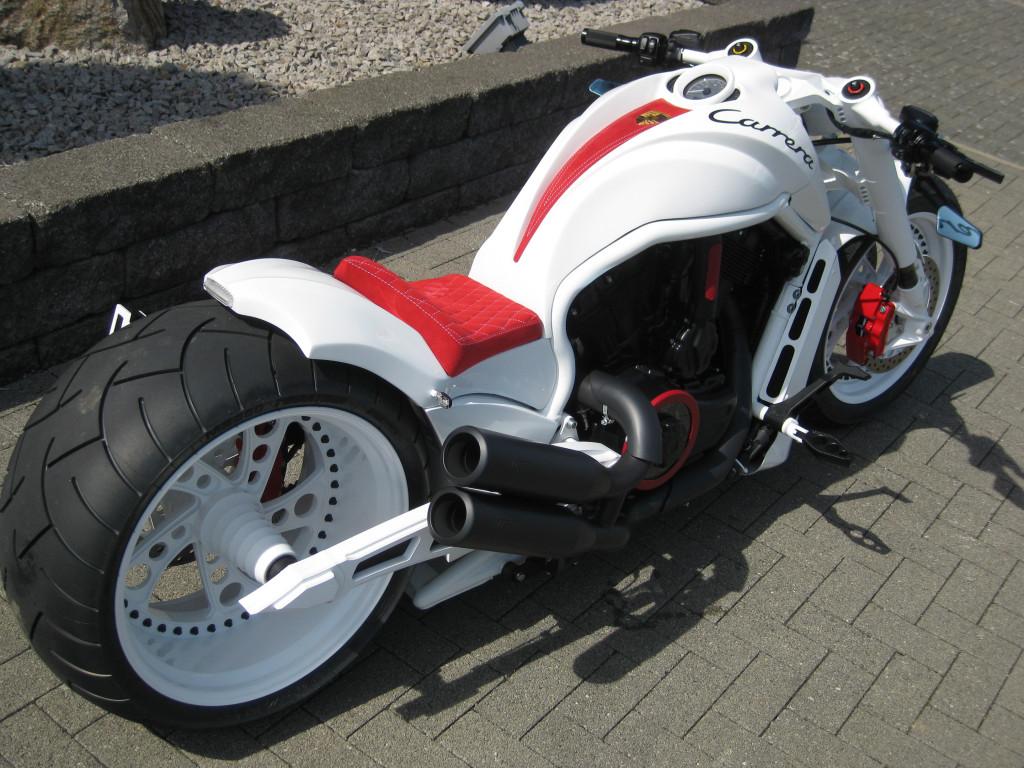 White Carrera V-Rod