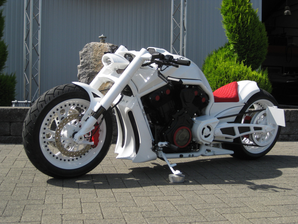 custom harley davidson VRSCB V-Rod