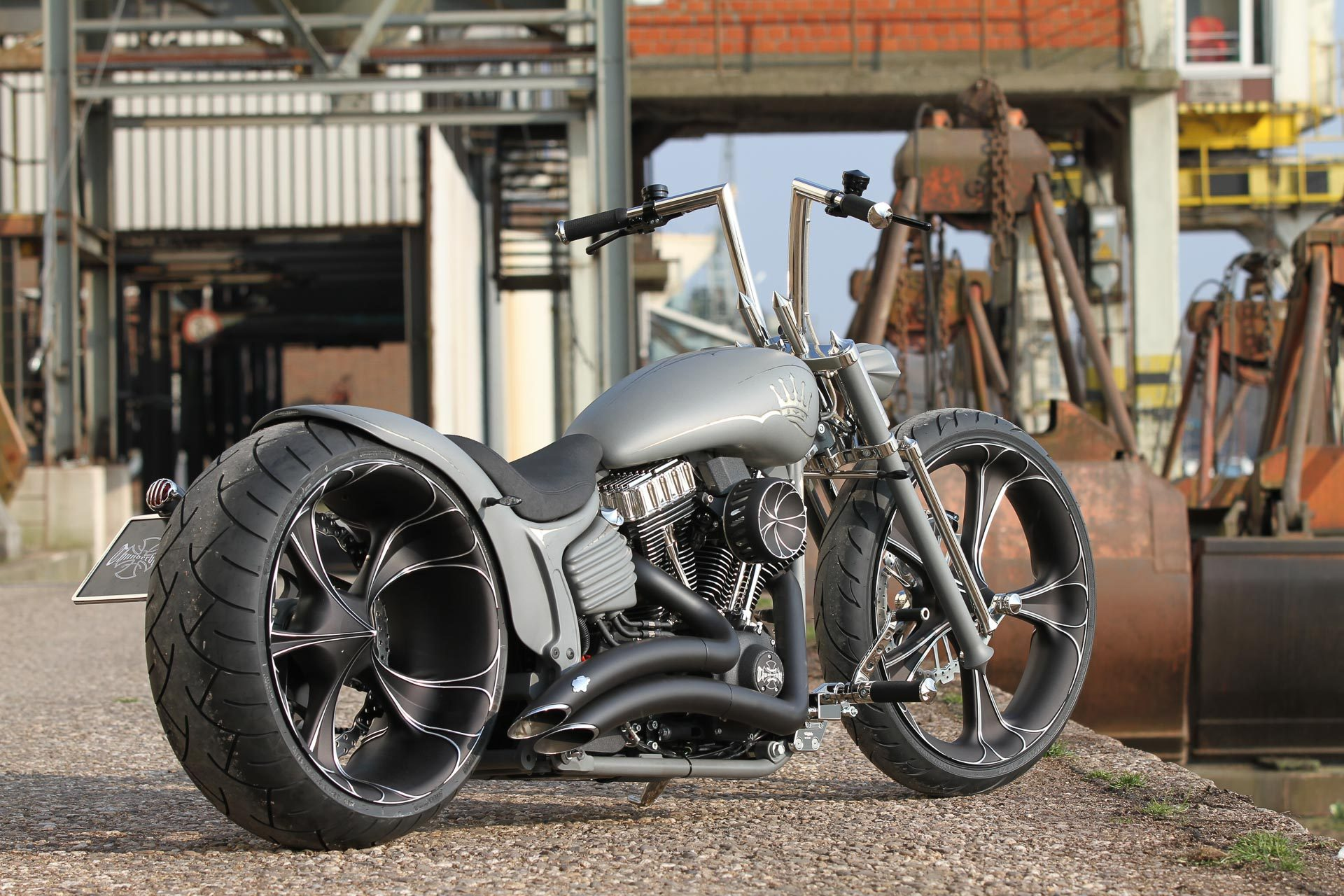 custom motorcycle parts for choppers