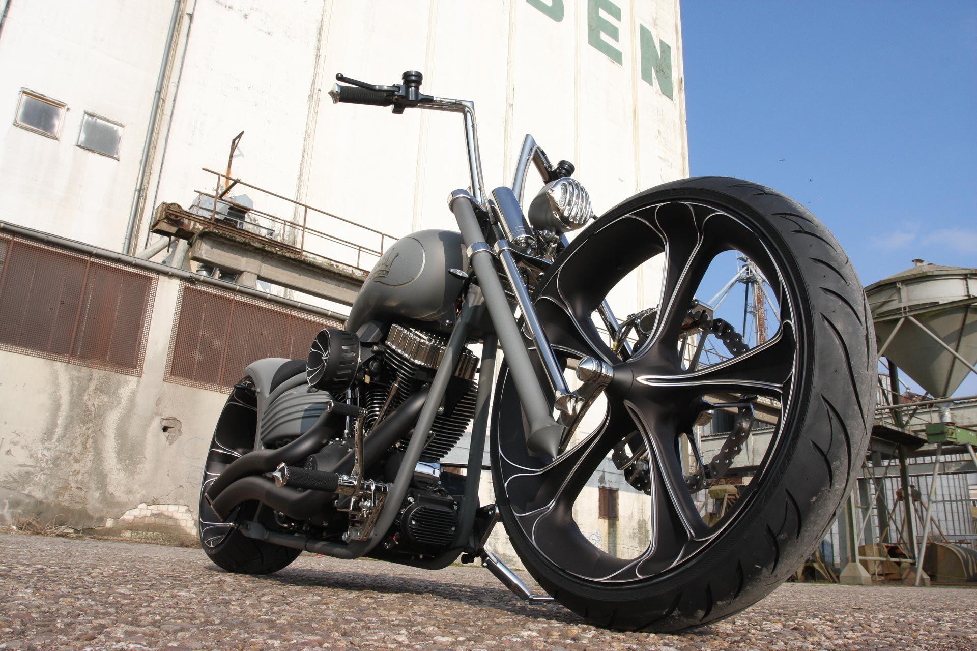 custom parts for harley-davidson rockers