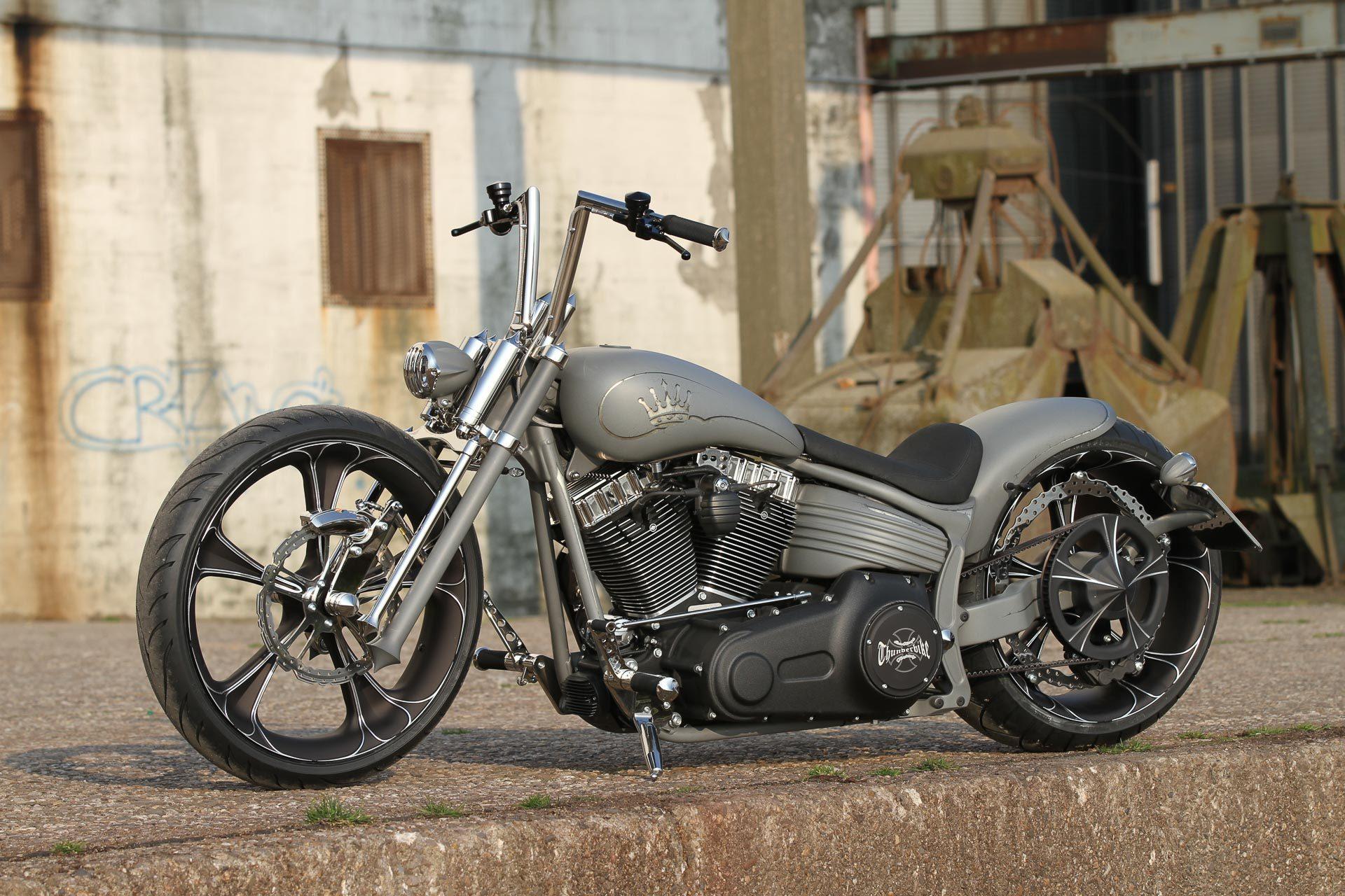 custom parts for harley rockers