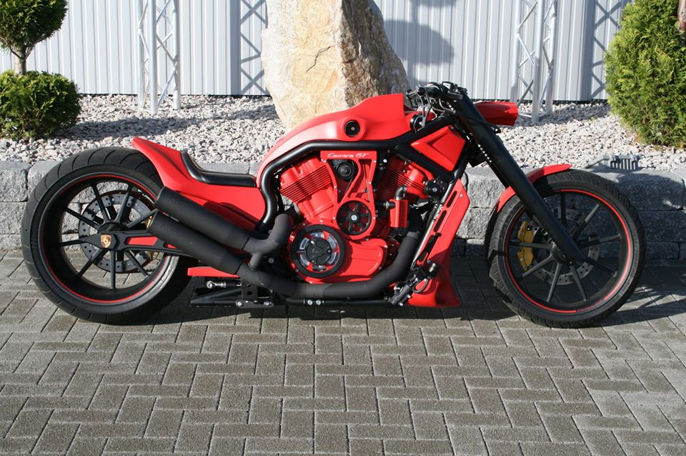 custom harley VRSCA V-Rod