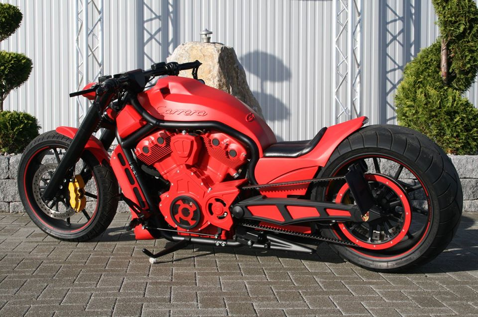 custom harley VRSCB V-Rod