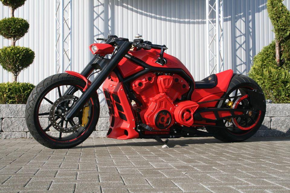 Red Carrera V-Rod