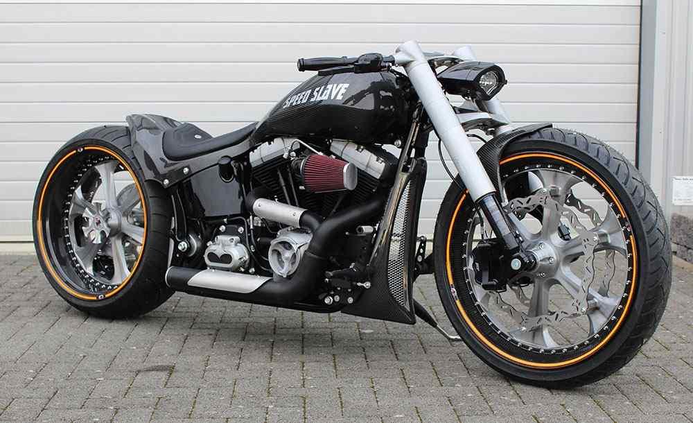 Speed Slave Custom Harley Breakout