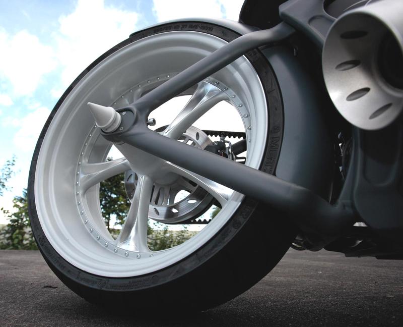 custom harley-davidson rocker wheels