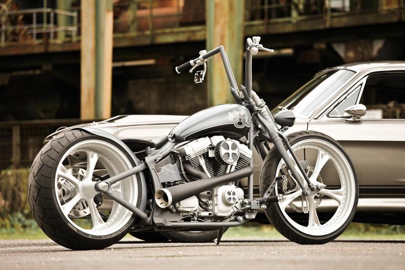 Ghost Harley Rocker