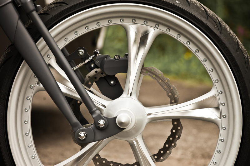 custom harley rocker wheels