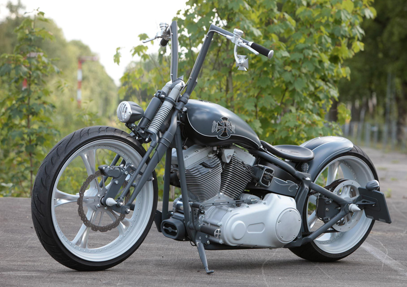 custom motorcycle parts for harley rockers