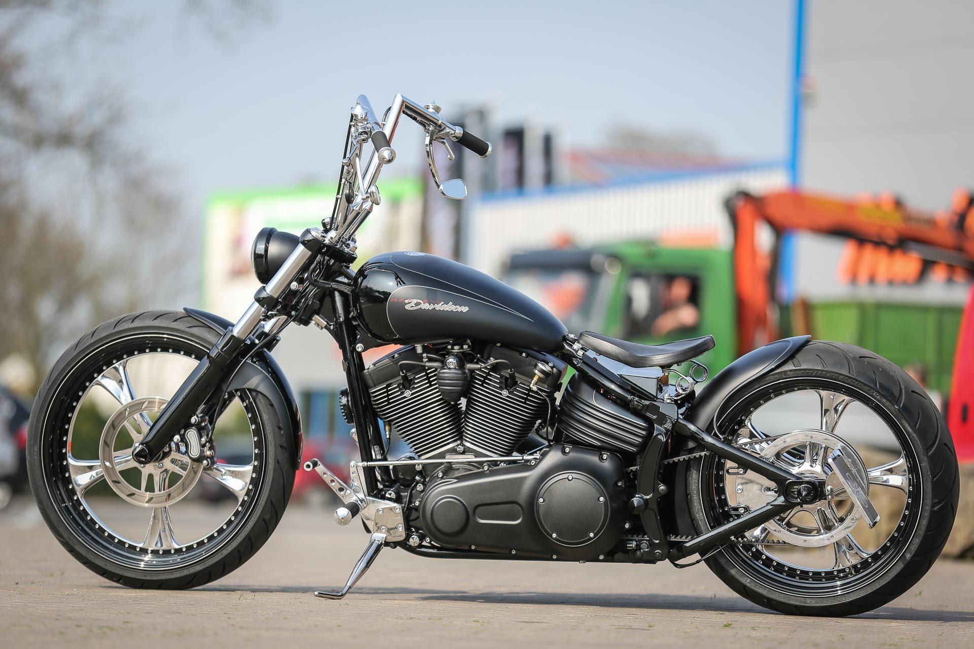 custom wheels for harley rockers