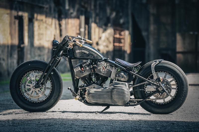 harley davidson shovelhead motorcycle